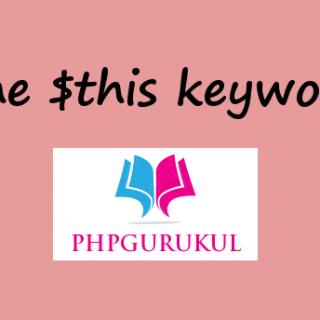 The This Keyword