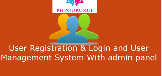 user registration and login system in php