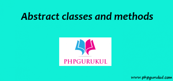 Abstract classes