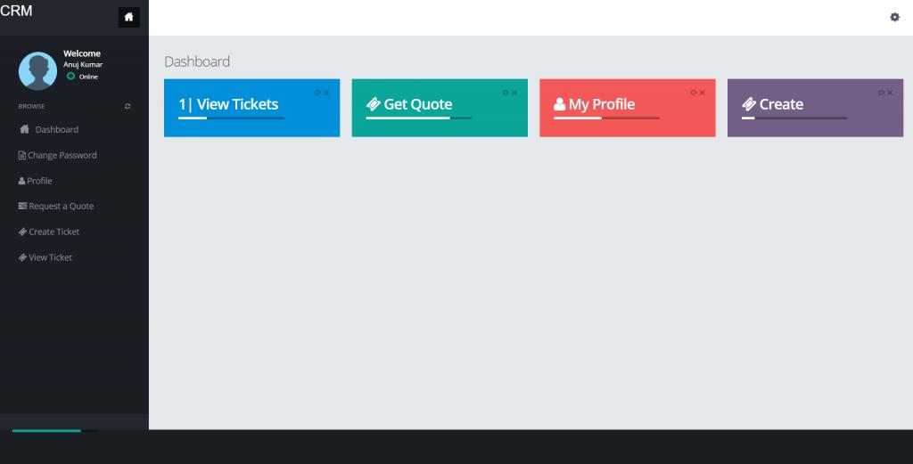 CRM-User-Dashboard