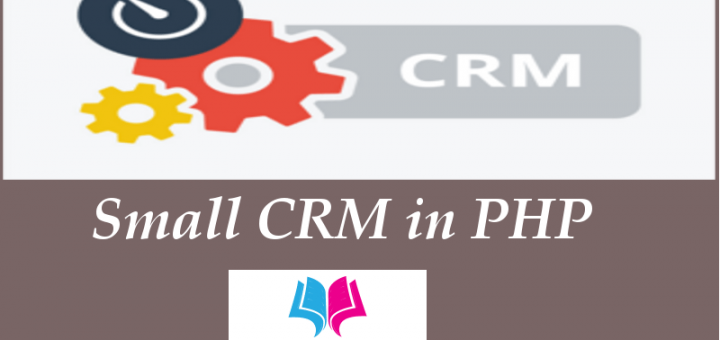 Smaal CRM in PHP