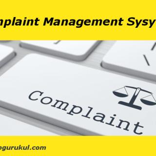 complaint management System - PHPGurukul