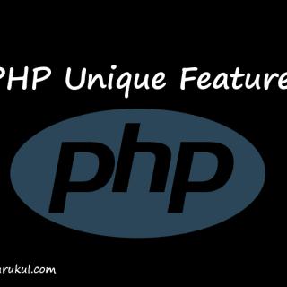 php unique features