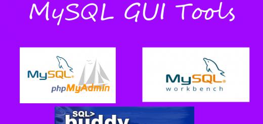 mysql gui tools