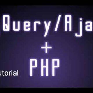 JQuery Ajax Tutorial- PHP Gurukul