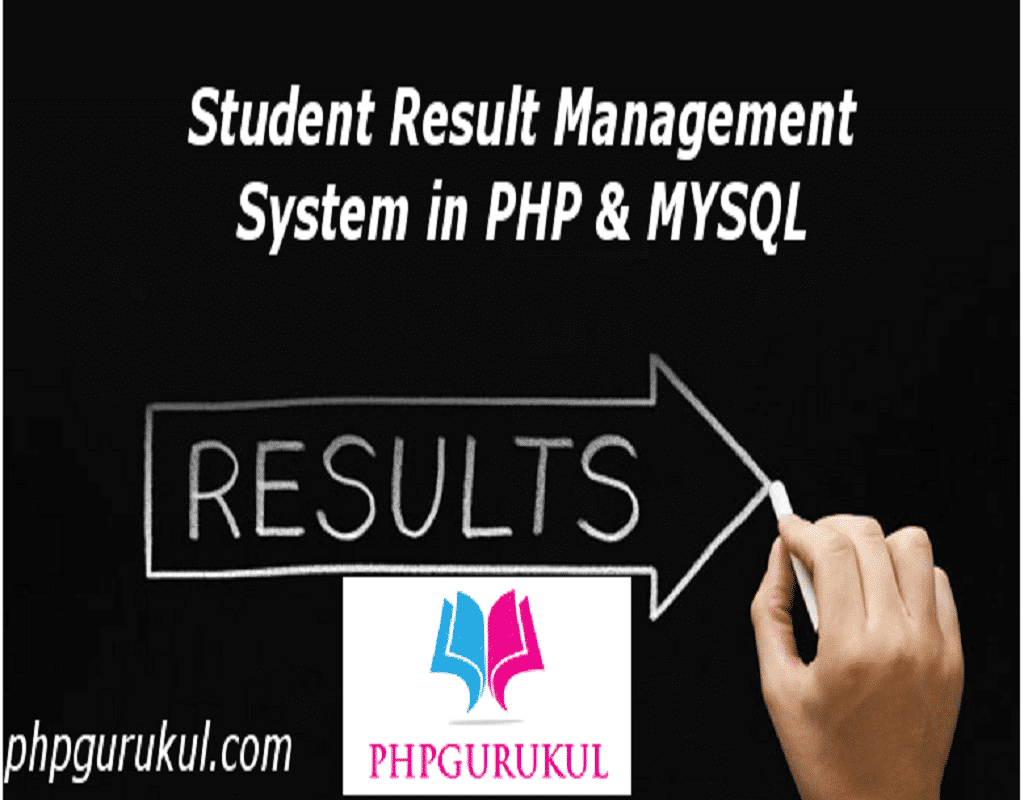 Student Result Management system in php Free download with
