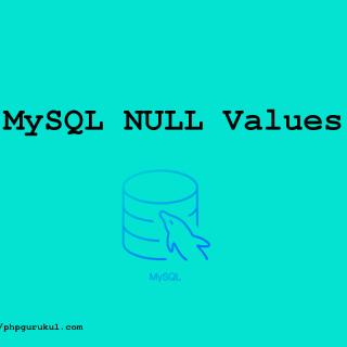 mysql null values