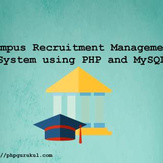 campus-recruitment--system-usingphp