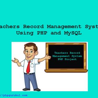 teachersrecordmanagementsystemusingphp