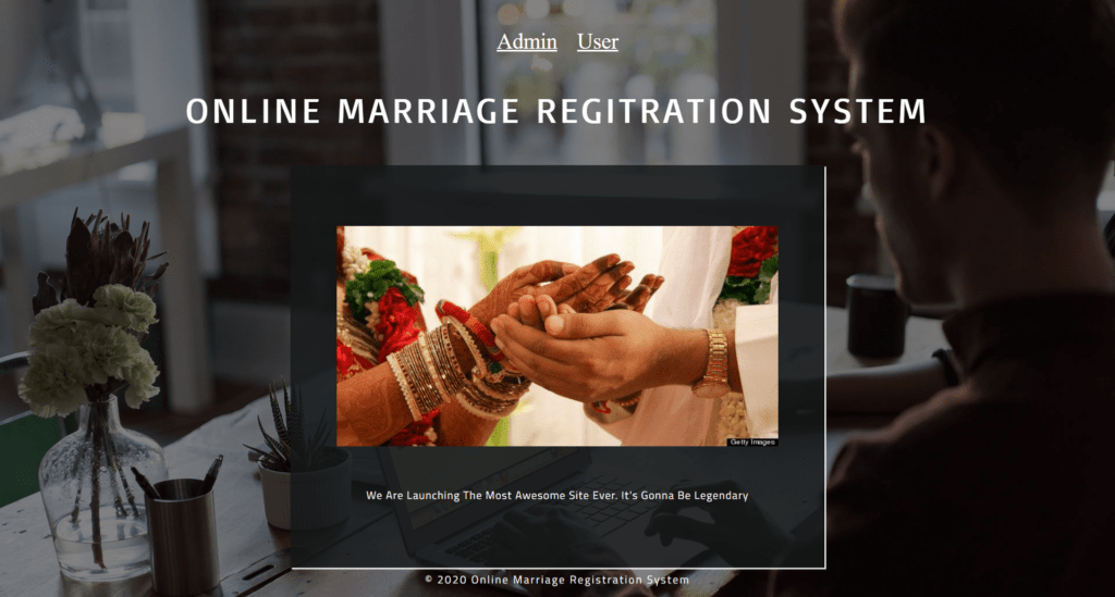 Online_Marriage_Regitration_System_Home_Page