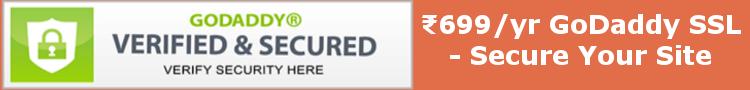 GoDaddy SSL Offer
